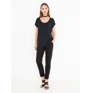 Miss Green - Top Ozlem dark navy
