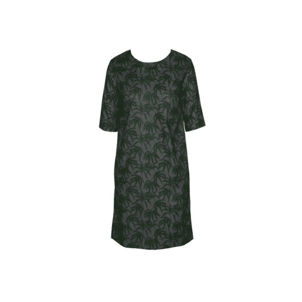 Studio JUX - Robe Dark green grey