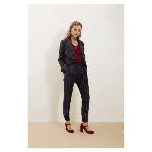 People Tree - Hannelle Waterfall Jacket Navy - R002US.NY1-4