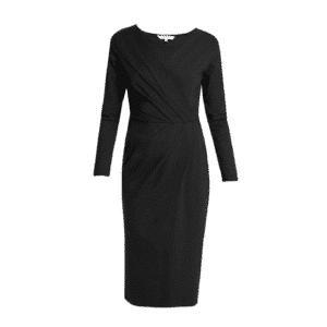 People Tree - Irene Wrap Dress Black - R356US.BK1