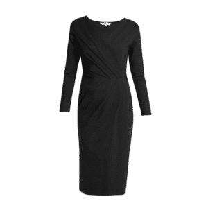 People Tree - Irene Wrap Dress Black - R356US.BK1
