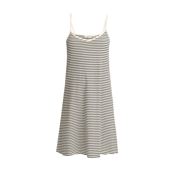 People Tree - Stripe Nightdress Navy - R432US.NY1