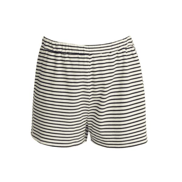 People Tree - Stripe Pyjama Shorts Navy - R434US.NY1