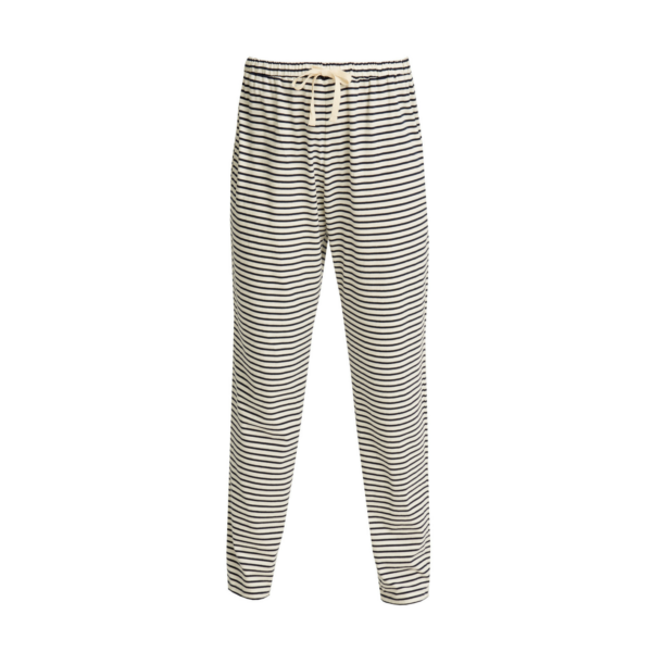 People Tree - Stripe Pyjama Trousers Navy - R436US.NY1