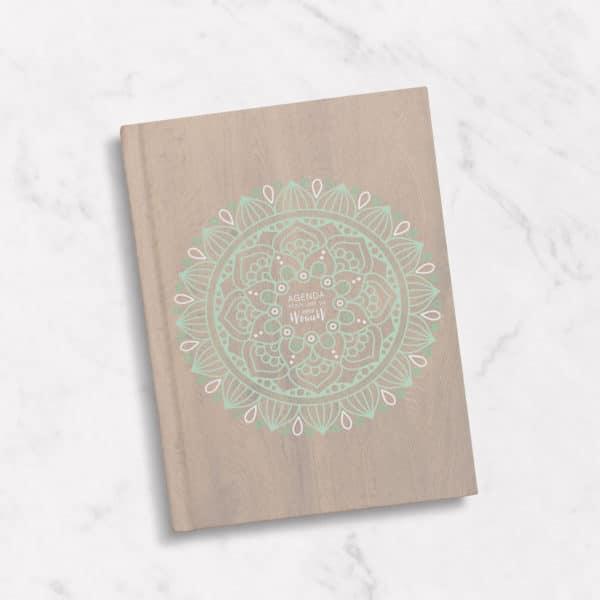 Happyflow - agenda classique mandala 2019