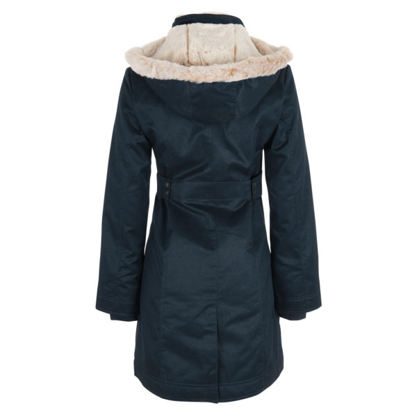 Hoodlamb - Ladie's long coat - Midnight blue - 2