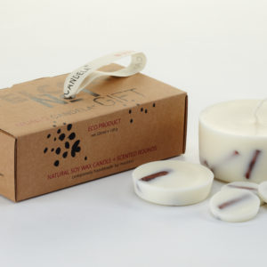 Munio Candela - Gift box_Cinnamon