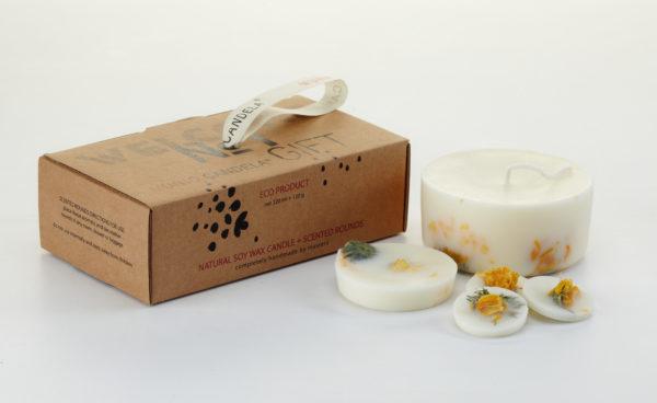 Munio Candela - Gift box_Marigold