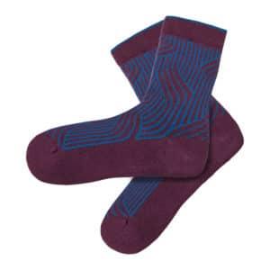 Tranquillo - W17ACS11-Socken-Twist-purple