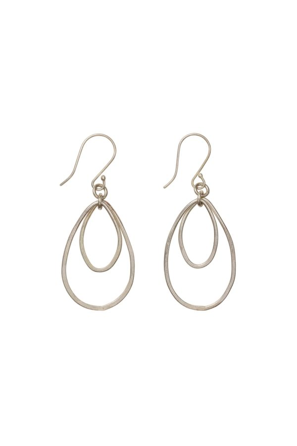 People Tree - Oval Drop Earrings - T457UU.SL1