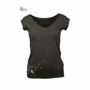 UpRise - V-Tee - Fly Gold (Black)