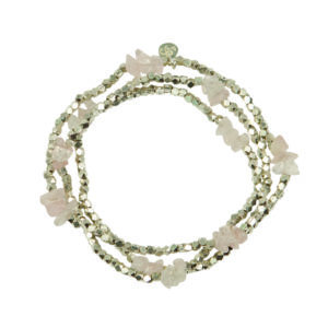 A Beautiful Story - BL20187 Cheer Rose Quartz SP bracelet kopie