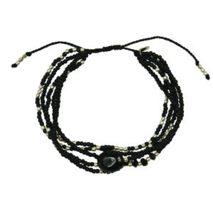 A Beautiful Story - BL22800 Blossom Black Onyx SP bracelet