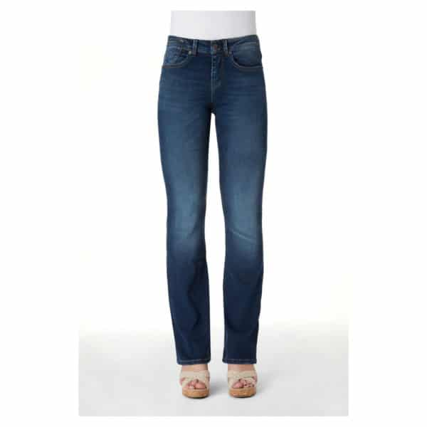 Kuyichi - Amy - Herbal blue - Bootcut (1)
