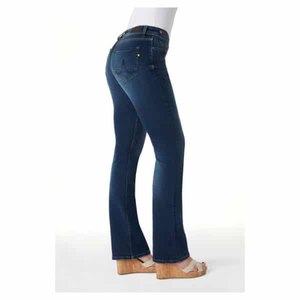 Kuyichi - Amy - Herbal blue - Bootcut (2)