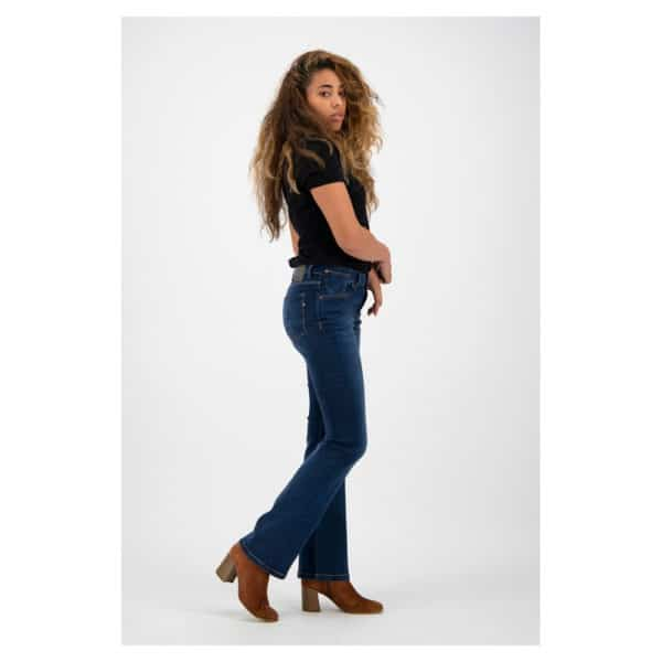Kuyichi - Amy - Herbal blue - Bootcut (3)