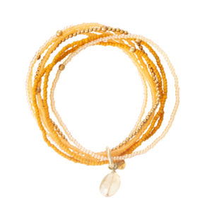 A Beautiful Story - BL23053-Nirmala Citrine Gold Bracelet