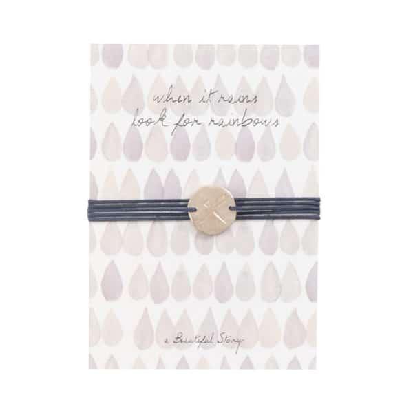 A Beautiful Story - JP00021-Jewelry Postcard Rainbow