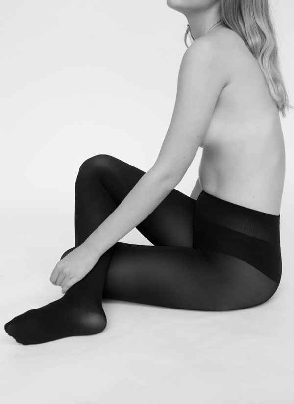 Swedish Stockings - Lia Premium Tights - Black