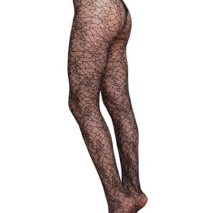 Swedish Stockings - Edith Lace Tights - Black (4)