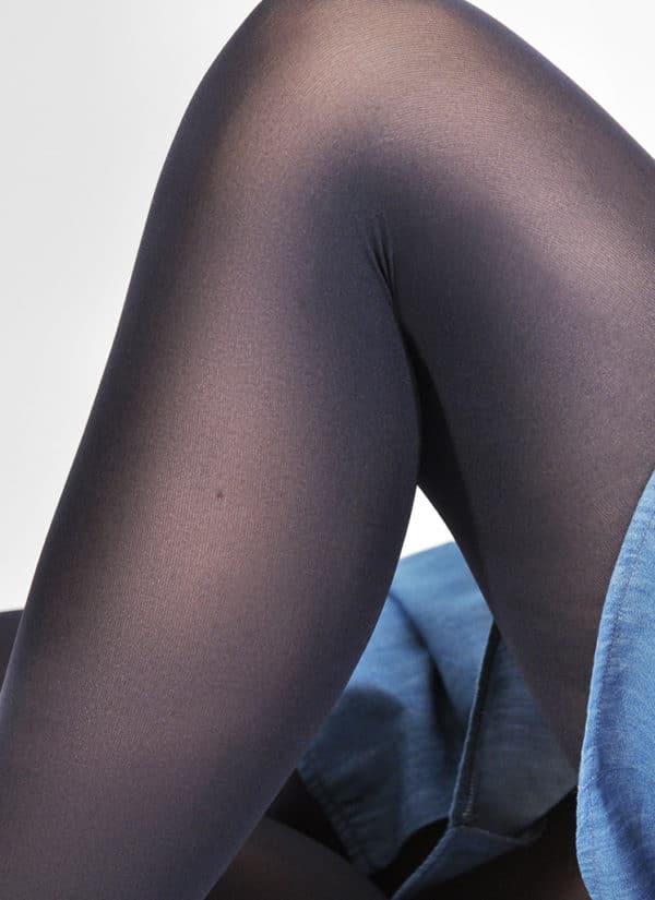 Swedish Stockings - Olivia Premium Tights - Navy 1 (2)