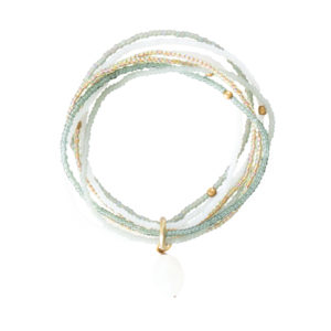 A beautiful story - BL22353-Nirmala Moonstone Gold Bracelet