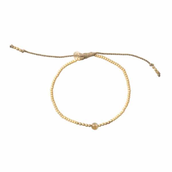 A Beautiful Story - BL23080 Twinkle Citrine Gold Bracelet