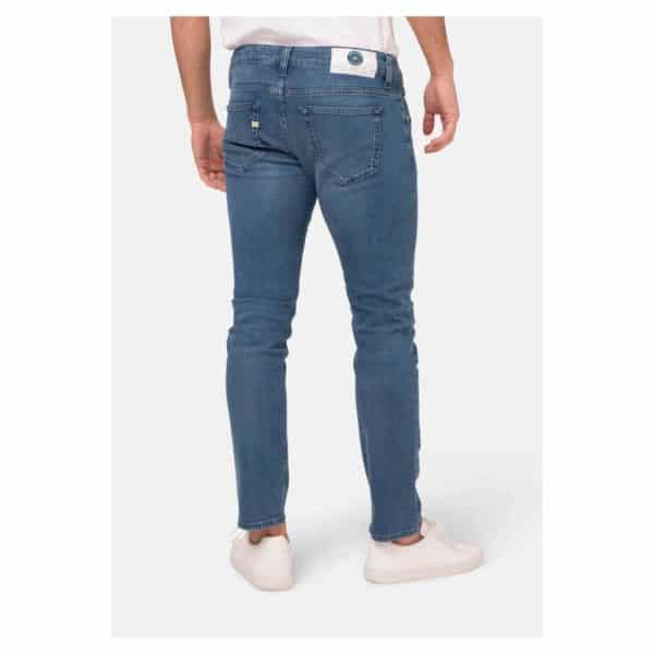 Mud Jeans - Lassen Slim Pure Blue (2)