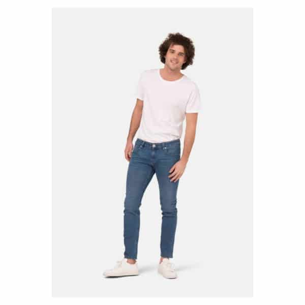 Mud Jeans - Lassen Slim Pure Blue (4)
