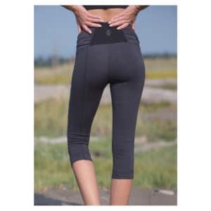 NOMADS - Flex Leggings GreyBlack Microstripe (2)