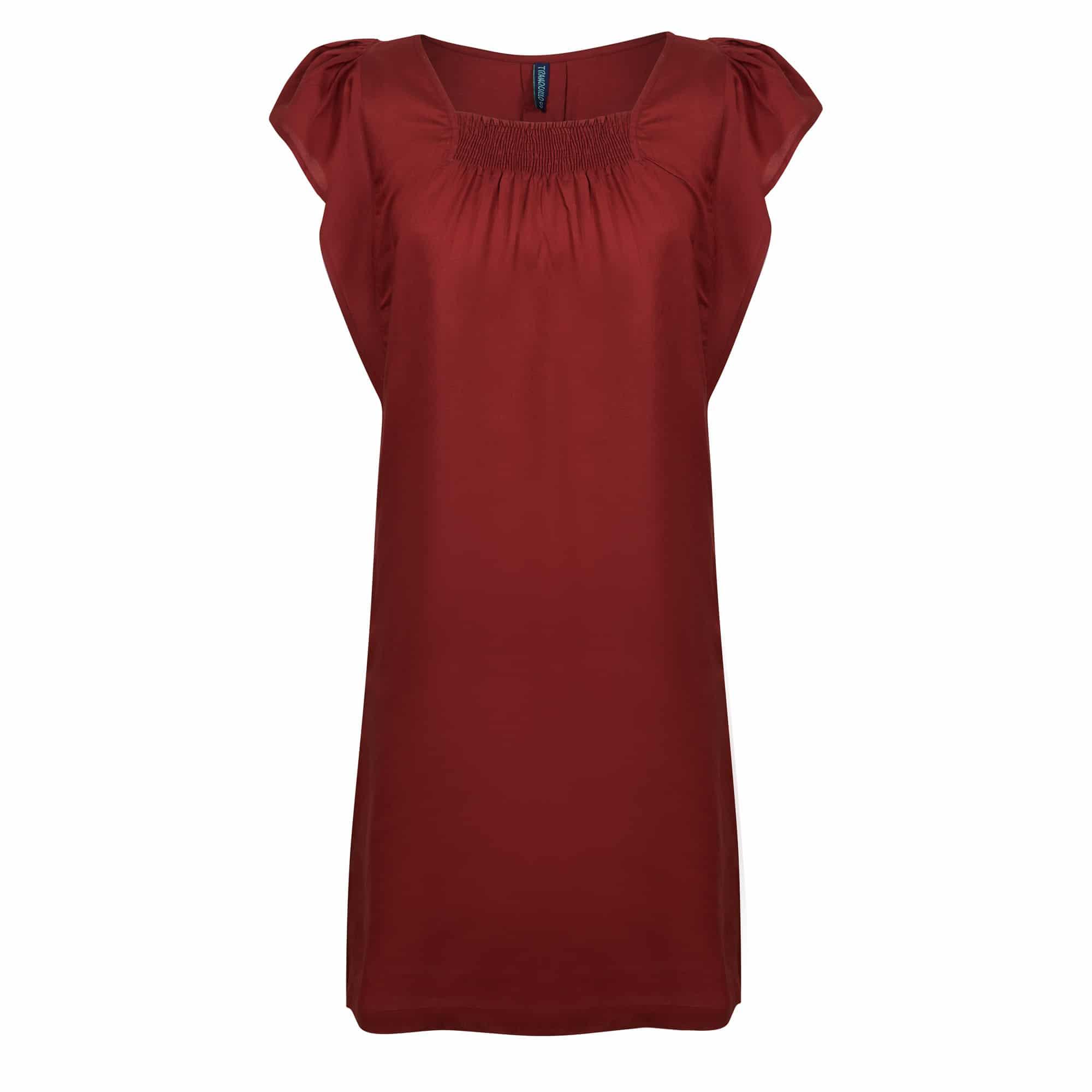 5c7d027f549a TRANQUILLO – Dress Melissa Rumba Red – L'Envol du Colibri