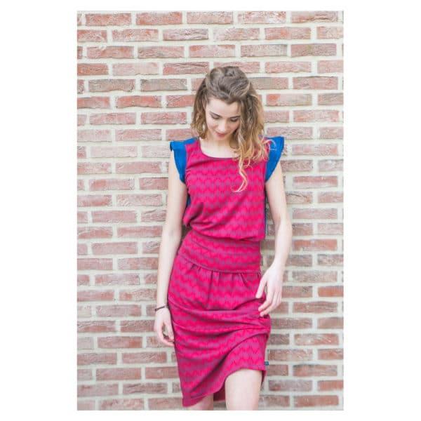 Tranquillo - S19F7-Gwen-Dress-leaf-Kleid (5)